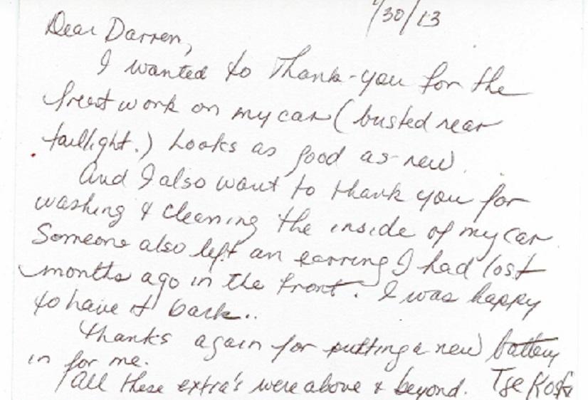Cust Letter #2